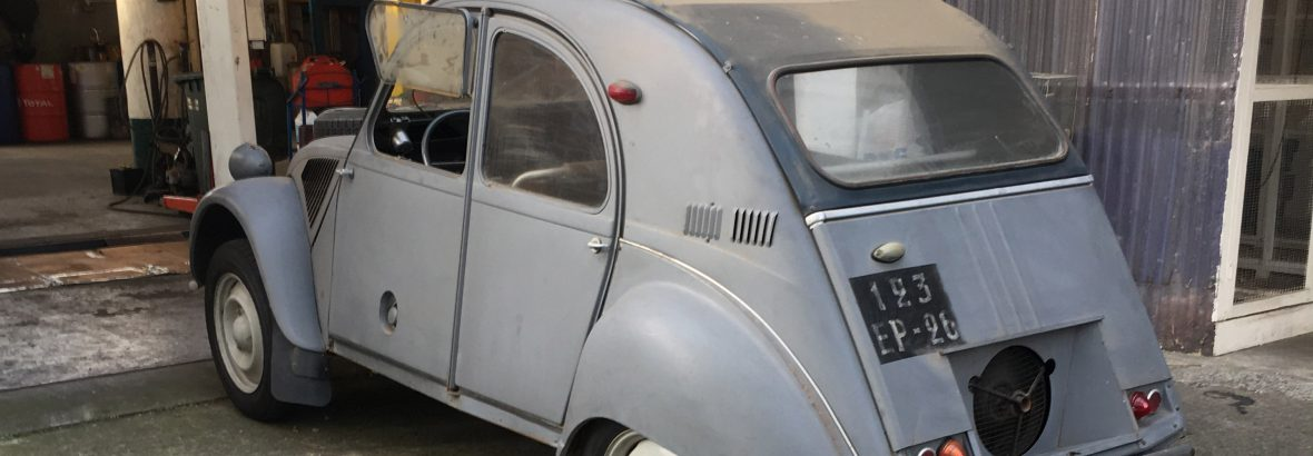 The most expensive 2cv in 2016…